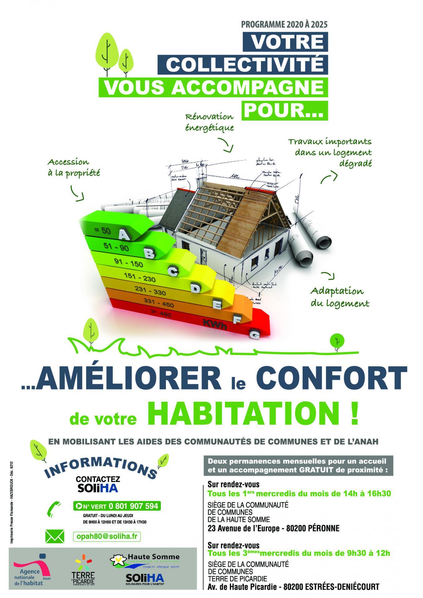 Améliorer le confort de votre habitation