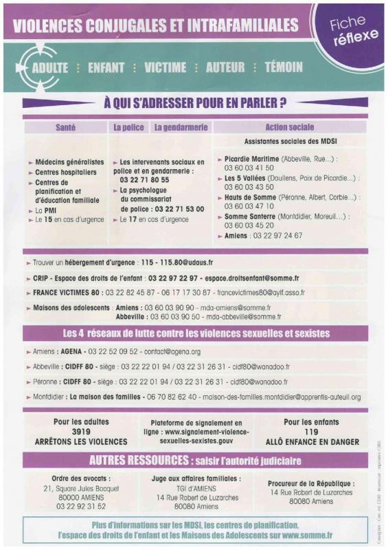 Stop aux violences agissons